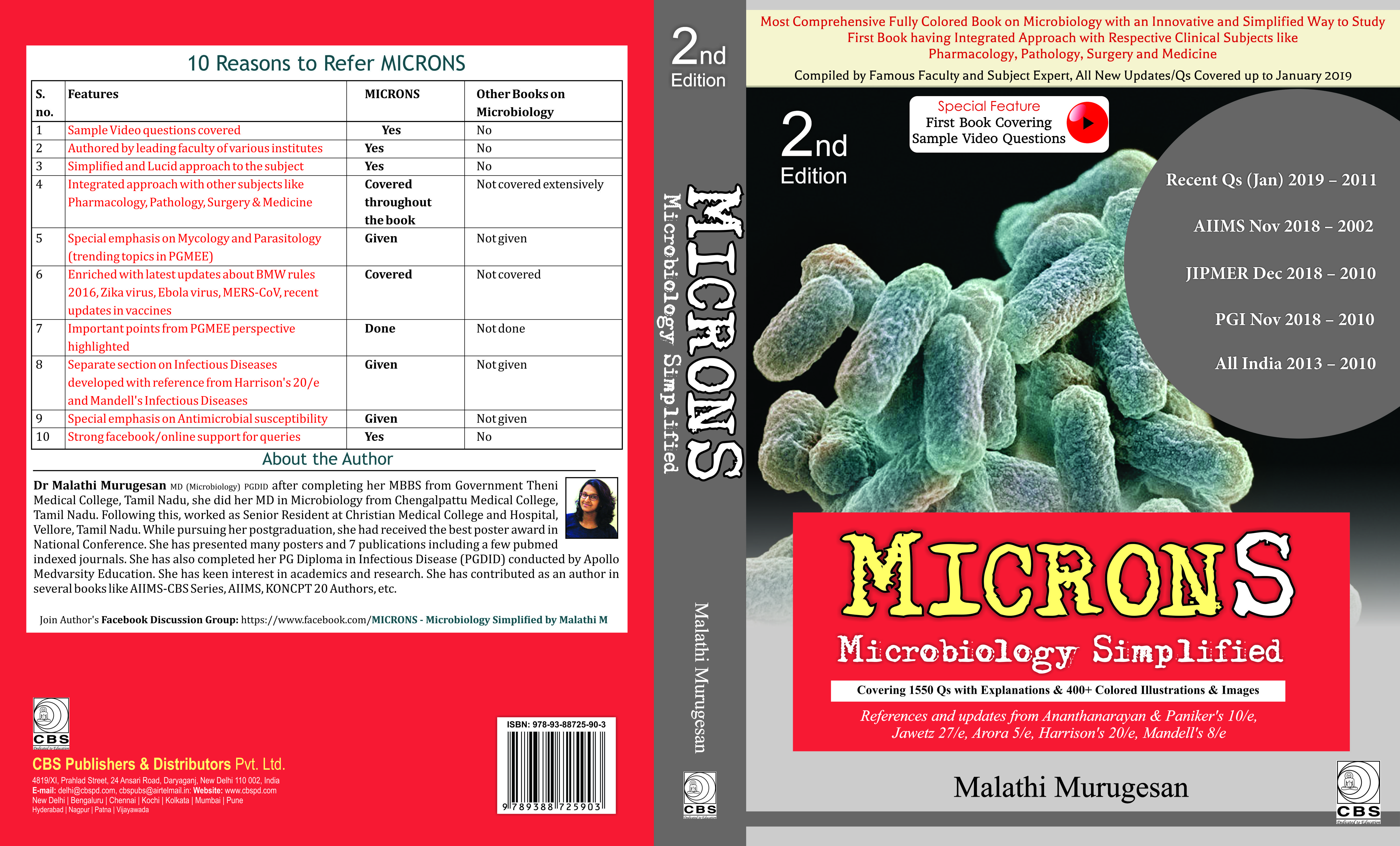 Buy MICRONS-Microbiology Simplified 2nd edition | Latest
