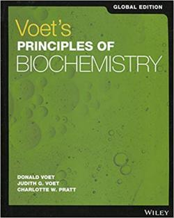 Front cover:Voet's  Principles of BiOCHEMISTRY, 5/E  (Global Edition)