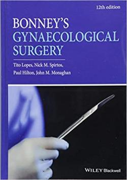Front cover:Bonney′s Gynaecological Surgery 12th/e
