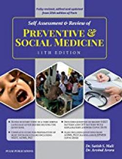Front cover:Self Assessment and Review of Social & Preventive Medicine By ARVIND