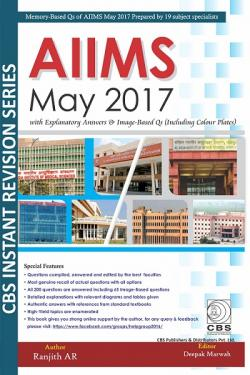 Front cover: AIIMS May 2017