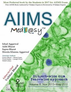 Front cover: AIIMS MedEasy Volume II, 2nd edition