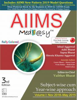 Front cover:AIIMs Medeasy-Volume-I: Nov. 2018 to May 2015, 3/e