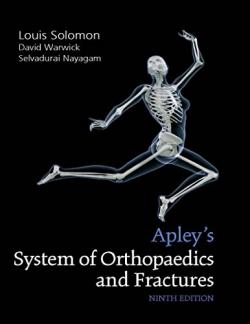 Front cover: Apley's System of Orthopaedics and Fractures, 9th edition