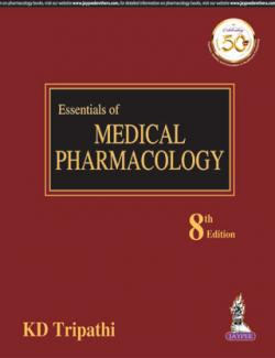 Front cover:Essentials of Medical Pharmacology by KD Tripathi