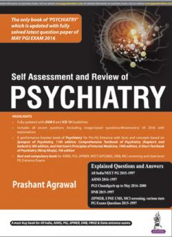 Front cover: Self Assessment and Review of Psychiatry, 1st edition