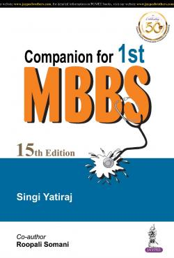 Front cover: Companion for Ist MBBS