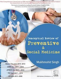 Front cover: Conceptual Review of Preventive & Social Medicine