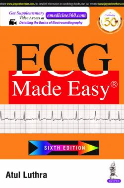 Front cover:ECG Made Easy, 6/e