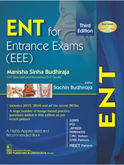 Front cover: ENT for Entrance Exams (EEE), 3rd edition