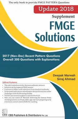 Front cover: FMGE Solutions – Update 2018 (Supplement)