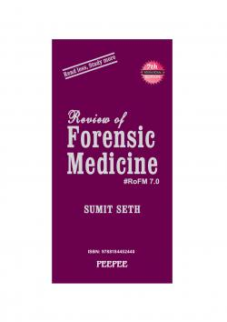Front cover: Review of Forensic Medicine
