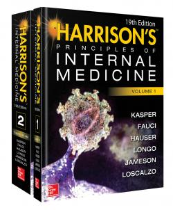 Front cover: Harrison's Principles of Internal Medicine: Volume 1 and 2