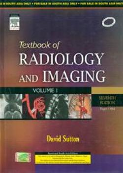 Front cover:Textbook of  Radiology and Imaging