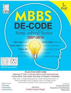 Front cover:MBBS Decode Semi Solved Series
