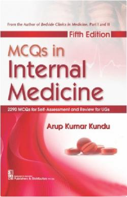 Front cover: MCQs in Internal Medicine, 5th Edition