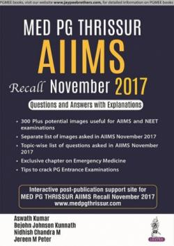 Front cover: MED PG Thrissur AIIMS Recall November 2017