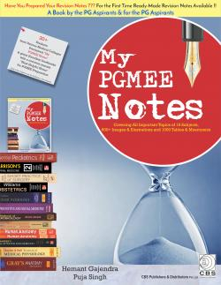 Front cover: My PGMEE Notes By Hemant Gajendra, Puja Singh