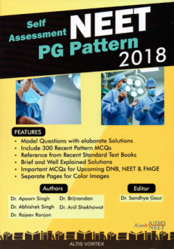 Front cover: Self Assessment NEET PG Pattern 2018