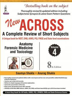 Front cover: Across: A Complete Review of Short Subjects, 8th edition