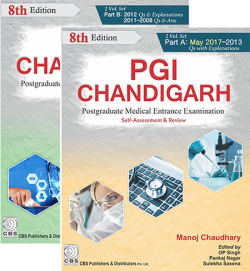 Front cover: PGI Chandigarh: Postgraduate Medical Entrance Examination Self-Asse