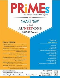 Front cover: PRIMS PG Review in Minimal Efforts: The Smart Way to Crack AI/NEET/