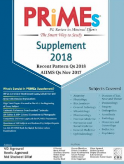 Front cover: PRiMEs PG Review in Minimal Efforts: Supplement 2018 Most Recent Qs