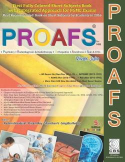 Front cover: PROAFS For NBE, 5th edition