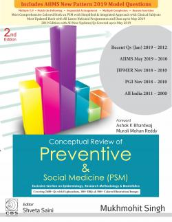 Front cover:Conceptual Review of Preventive & Social Medicine (PSM), 2/E