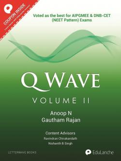 Front cover: Q WAVE Volume II: For NEET-PG & DNB-CET (NEET Pattern)