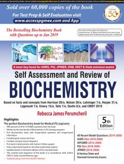 Front cover:Self Assessment and Review of Biochemistry, 5th edition