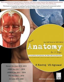 Front cover: Revise Anatomy In 15 Days, 2nd edition