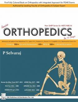 Front cover: Revise Orthopedics In 10 Days: New SARP Series for NEET/NBE/AI
