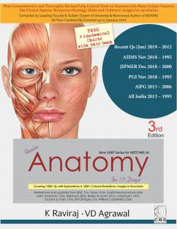 Front cover:Revise Anatomy In 15 Days, 3rd edition