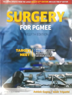 Front cover: Surgery for PGMEE  By Amit Tripathi, Ashish Gupta