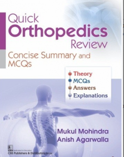 Front cover:QUICK ORTHOPEDICS REVIEW CONCISE SUMMARY AND MCQS
