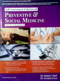 Front cover: Self Assessment and Review of Social & Preventive Medicine, 10th ed