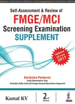 Front cover: Self-Assessment & Review of FMGE/MCI Screening Examination Suppleme