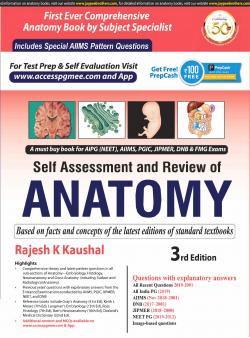 Front cover:Self-Assessment and Review of ANATOMY  3/e