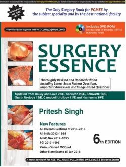 Front cover: Surgery Essence, 6th edition