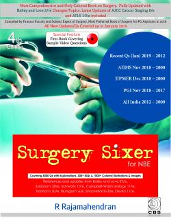 Front cover:Surgery Sixer for NBE, 4th edition