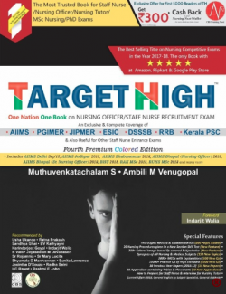 Front cover: TARGET HIGH: Staff Nurse Recruitment Exam