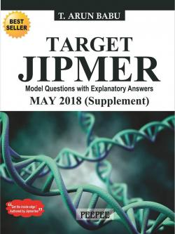 Front cover: TARGET JIPMER MAY 2018(Supplement)