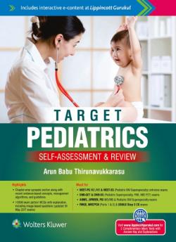 Front cover: Target Pediatrics Self-Assessment & Review, 1st edition