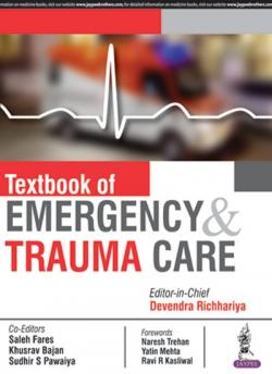 Front cover: Textbook of Emergency & Trauma Care