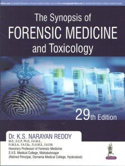 Front cover: Synopsis of Forensic Medicine and Toxicology, 29th edition