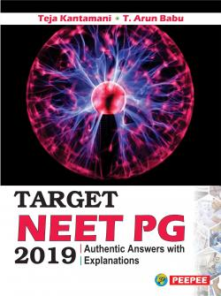 Front cover:TARGET NEET PG-2019, 1/e