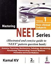 Front cover:Mastering NEET Series (Volume 1: Non-Clinical Subjects), 2/e