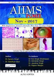 Front cover: AIIMS PGMEE November - 2017