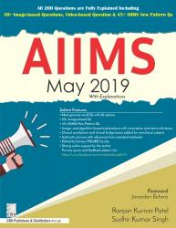 Front cover:AIIMS May 2019 with Explanations, 1/E
